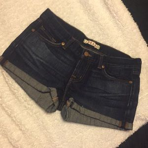 J Brand Jeans Low-Rise Cuffed Shorts